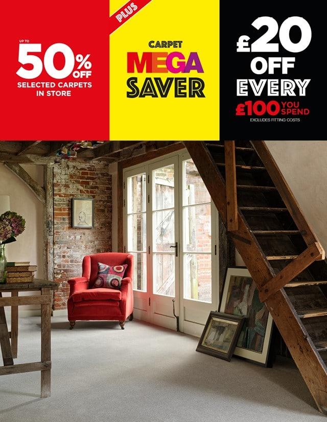 The Mega Saver starts today!